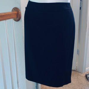 EUC Calvin Klein Navy Pencil Skirt - sz 16